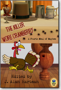 Barnara Metzger's short story 'Bogged Down' in the anthology 'The Killer Wore Cranberry'